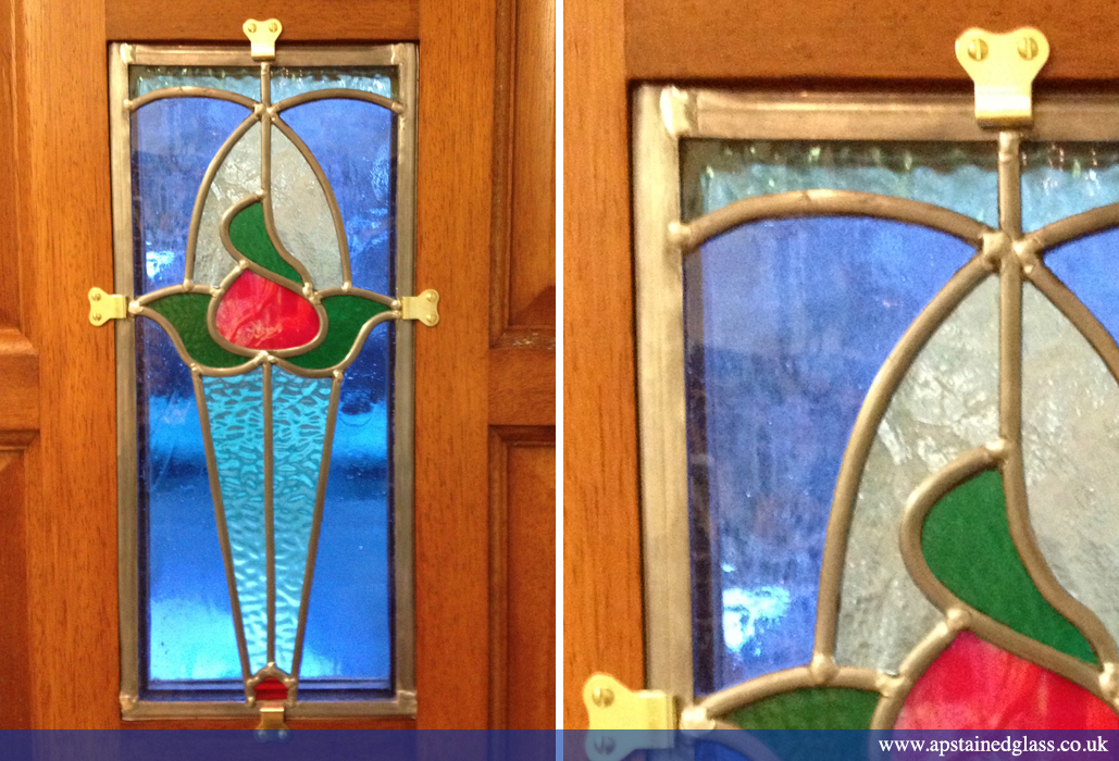 AP Stained Glass Andrew Patch Design and Restoration Door Panels 2