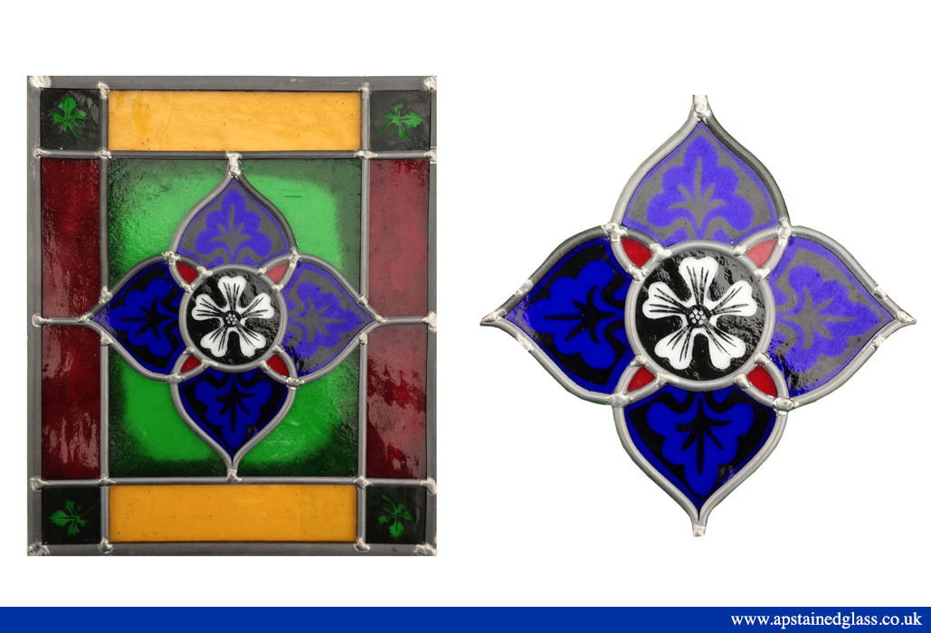 AP Stained Glass Andrew Patch Design and Restoration Door Panels 8