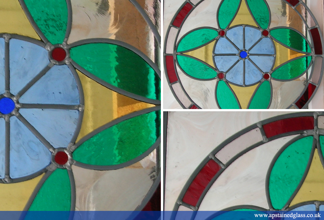 AP Stained Glass Andrew Patch Design and Restoration Door Panels 9