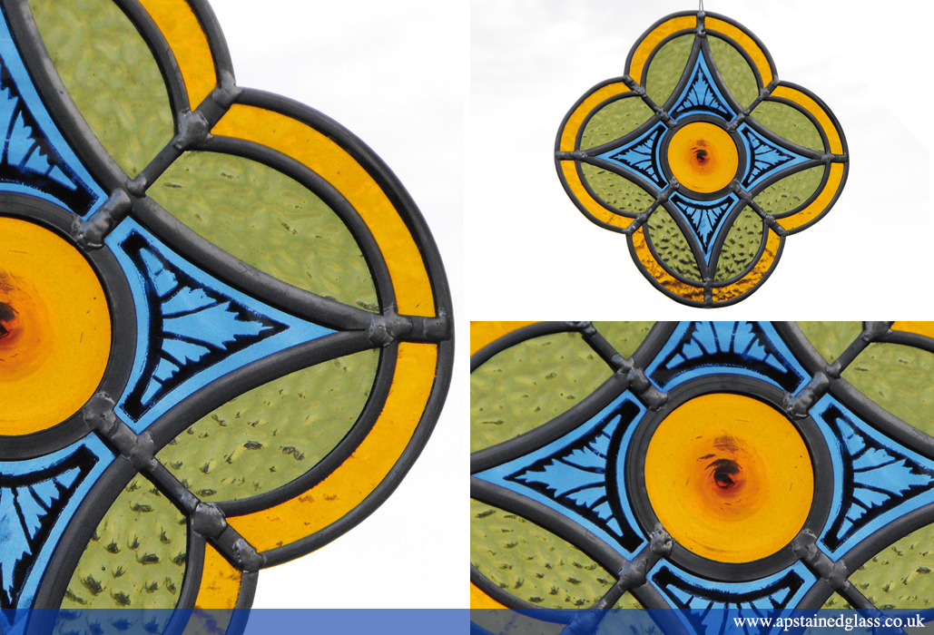 AP Stained Glass Andrew Patch Design and Restoration Suncatchers Ornaments 1