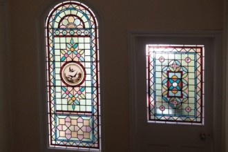 AP Stained Glass Andrew Patch Design and Restoration TB Front Doors