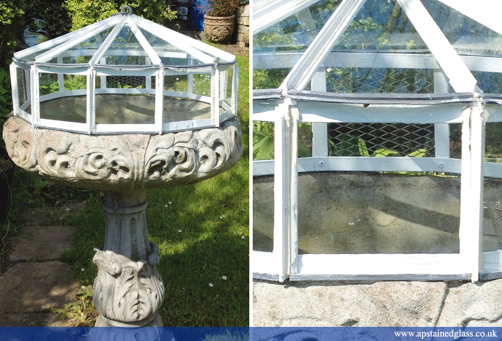 AP Stained Glass Andrew Patch Design and Restoration Victorian Garden Cloches 2