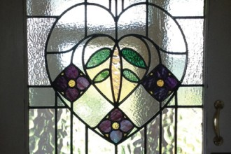 AP Stained Glass Andrew Patch Design and Restoration TB Resizing and Releading
